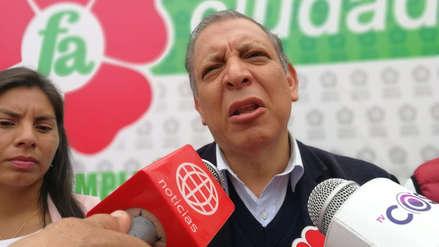Marco Arana advierte falta de voluntad del Congreso para el referéndum