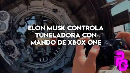 Video: Elon Musk utiliza mando de Xbox One para controlar un taladro gigante