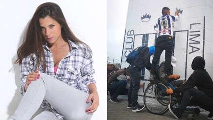 Vanessa Terkes envió mensaje de apoyo a los hinchas de Alianza Lima