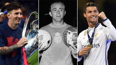 Los 20 mejores futbolistas de la historia de la Champions League, según L'Équipe