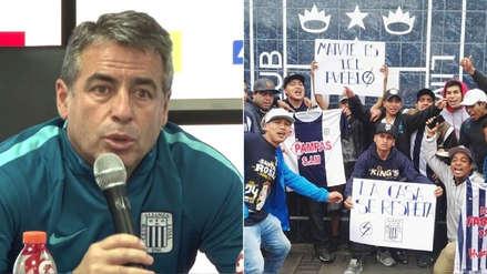 """Bengoechea: """"Gracias a los hinchas de Alianza Lima por defender nuestra casa"""""""