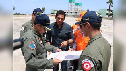 Gobernador denuncia que Sánchez Paredes intenta adueñarse de terreno