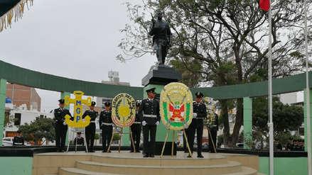 Rinden homenaje a héroe de la Policía Nacional en Trujillo