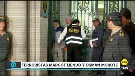 Video | Así fue el ingreso de Margot Liendo y Osmán Morote a la carceleta del Palacio de Justicia