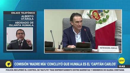 Informe Madre Mía se usa para tapar los casos de Becerril y Mulder, según Otárola