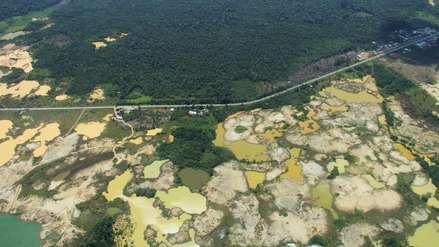 Deforestación por minería de oro en Madre de Dios es la más alta en los últimos 32 años