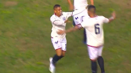 Roberto Siucho abrió la cuenta para Universitario en el duelo ante UTC