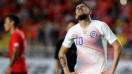 Diego Valdés cometió un 'blooper' que le costó la victoria a Chile ante Corea del Sur