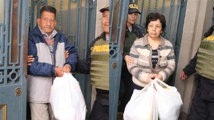 Osmán Morote y Margot Liendo fueron conducidos a penales donde purgarán cadena perpetua