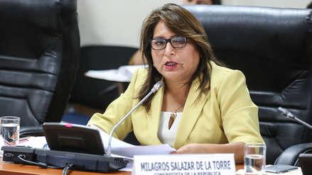 Poder Judicial solicitó al Congreso levantar inmunidad de la fujimorista Betty Ananculi