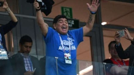 Difunden primera imagen de la serie biográfica de Diego Armando Maradona