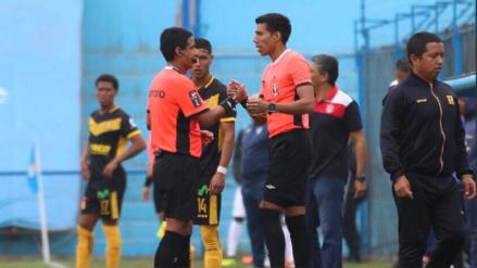 Árbitro sufrió lesión durante partido del Torneo Clausura