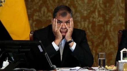 Rafael Correa es investigado por delincuencia organizada en el caso Odebrecht
