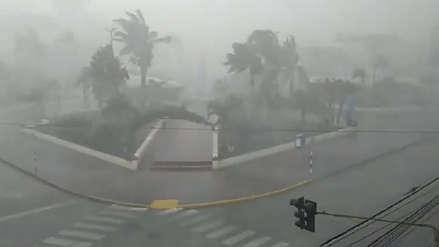 Las imágenes de la granizada y los fuertes vientos que afectaron a Tarapoto