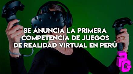Se anuncia la primera competencia de juegos de realidad virtual en Perú