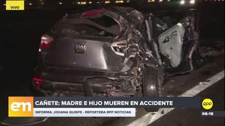 Madre e hijo murieron en un violento accidente de tránsito en Asia