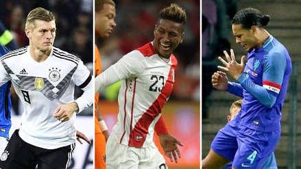 Pedro Aquino confesó qué futbolista lo impactó tras jugar con Holanda y Alemania