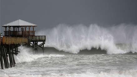 Video | El huracán Florence comienza a azotar la costa este de Estados Unidos