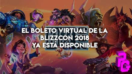 El boleto virtual de la Blizzcon 2018 ya está disponible