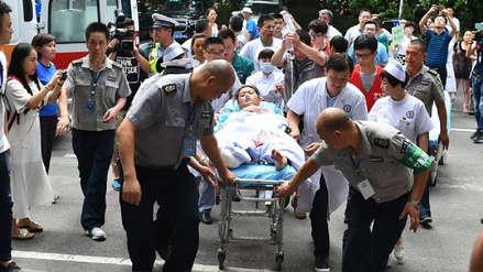 Un coche embiste a una multitud en China dejando nueve muertos y 46 heridos