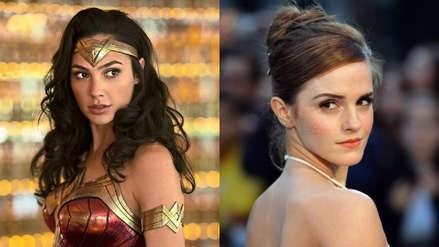Emma Watson se disfraza de Wonder Woman y causa furor en sus seguidores