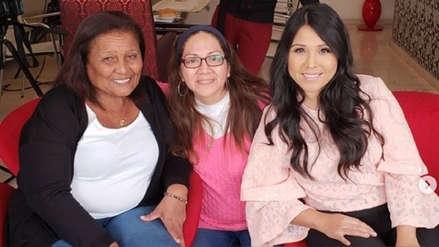Tula Rodríguez recibió palabras de ánimo de doña Peta: