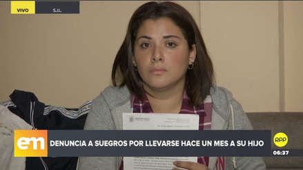 Una mujer denunció que sus suegros se llevaron a su hijo y no lo devuelven desde hace un mes