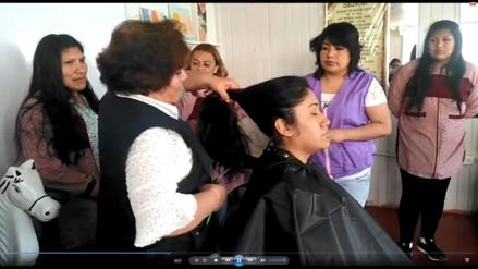 Video    Reclusas donan cabello y fabrican pelucas para pacientes con cáncer en Arequipa