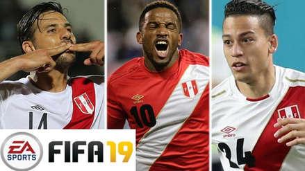 Los jugadores peruanos con más valor en el FIFA 19
