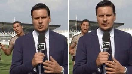 Cristiano Ronaldo 'troleó' a periodista que cubría la Juventus