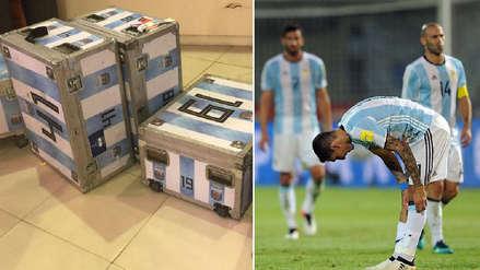 El bochornoso incidente de la Selección Argentina tras retornar a Buenos Aires