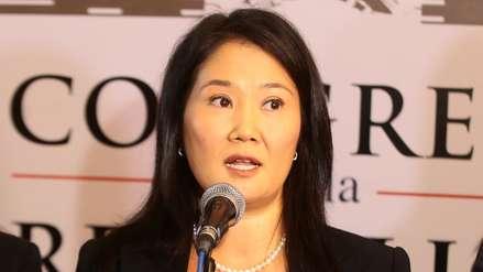 Decisión sobre recurso de casación de Keiko Fujimori y Fuerza Popular se conocerá en octubre