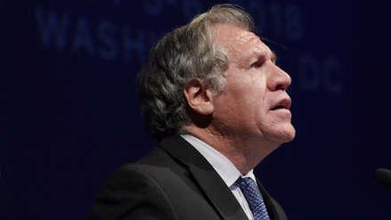 Secretario de OEA: No se debe descartar