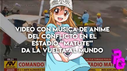 Viral | Publican video del conflicto en Matute con musica de anime