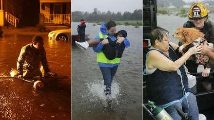 Fotos | Las impactantes imágenes que deja el paso del huracán Florence por EE.UU.