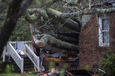 Al menos cinco muertos en Carolina del Norte por el huracán Florence