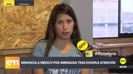 Una mujer denuncia que fue amenazada por un doctor tras quejarse ante SuSalud