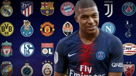Kylian Mbappé mencionó la final que desearía en la Champions League 2018/19