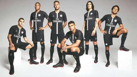 PSG usará camisetas con el logo 'Air Jordan' para la Champions League
