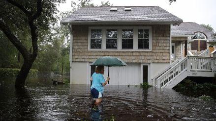 """EN VIVO   Florence deja varios muertos y causa inundaciones """"catastróficas"""" en EE.UU."""