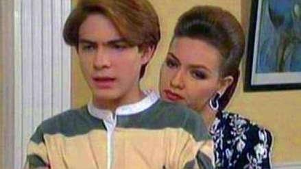 Thalía y 'Nandito' se reencontraron luego de 23 años