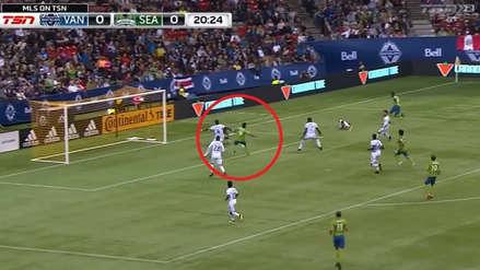 Raúl Ruidíaz marcó en el Seattle Sounders vs. Vancouver Whitecaps por la MLS