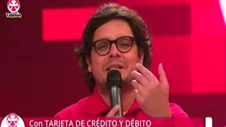 Teletón 2018: Gian Piero Díaz se indignó por la falta de colaboración de los peruanos [VIDEO]