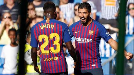 Barcelona le volteó el partido a Real Sociedad y sigue liderando la Liga de España