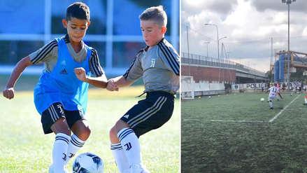 Cristiano Ronaldo Jr se lució con golazo en las divisiones menores de la Juventus