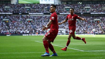 Liverpool venció al Tottenham y sigue con puntaje perfecto en la Premier League