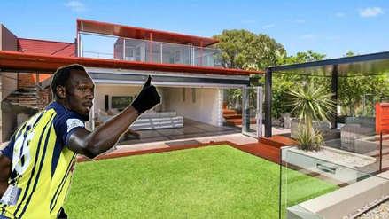 La millonaria mansión de Usain Bolt en su vida como futbolista