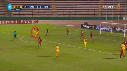 Cantolao anotó un golazo para poner el primero ante Universitario