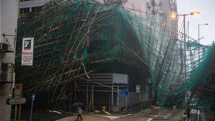 Al menos dos muertos y numerosos destrozos en China por el tifón Magkhut
