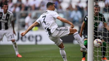 Así fue el primer gol de Cristiano Ronaldo con la Juventus en la Serie A